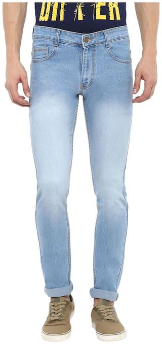 Urbano Fashion Men Mid rise Slim fit Jeans - Blue