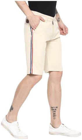 Men Solid Chinos Shorts