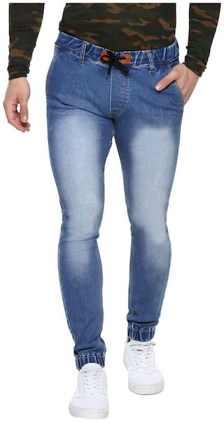 Urbano Fashion Men Blue Skinny Fit Jeans