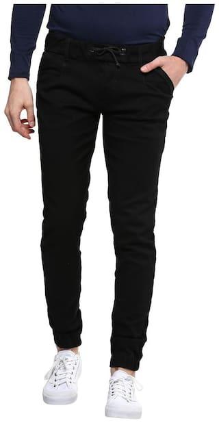 Urbano Fashion Men Mid rise Regular fit Jeans - Black