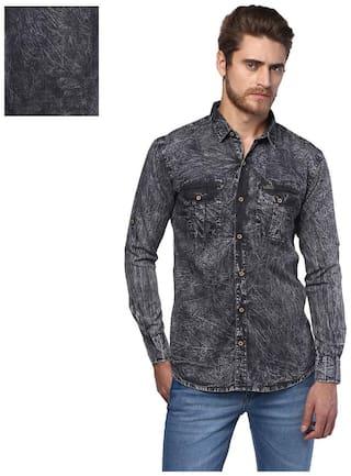 Urbano Fashion Men Slim fit Casual shirt - Grey