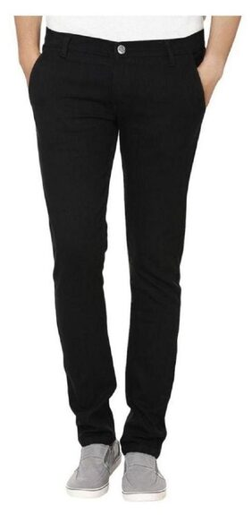Urbano Fashion Black Slim Fit Stretch Jeans