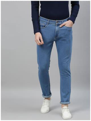 Urbano Fashion Men Blue Slim Fit Jeans