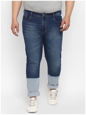 Urbano Plus Men Blue Regular Fit Jeans