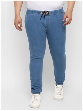 Men Jogger Mid Rise Jeans Pack Of 1