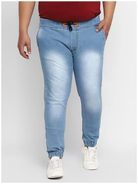 Urbano Plus Men Blue Jogger Jeans