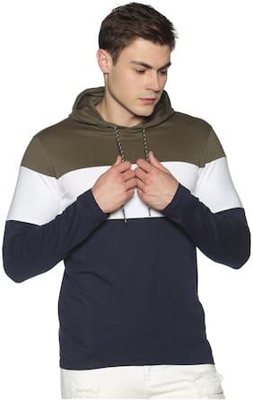 Men Hood Colorblocked T-Shirt Pack Of 1