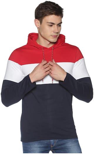Urgear Men Multi Regular fit Cotton Hood T-Shirt