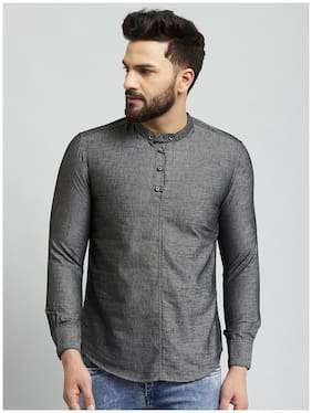 Men Solid Regular Fit Kurta