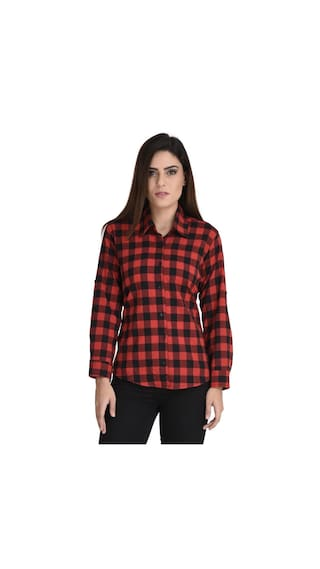 Shirt Multi Vaijyanti Cotton Check Multi Cotton Vaijyanti xwxZn4YAFq