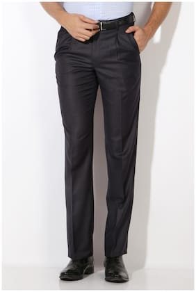 Men Slim Fit Formal Trouser