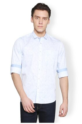 Van Heusen Men Regular Fit Casual shirt - Blue