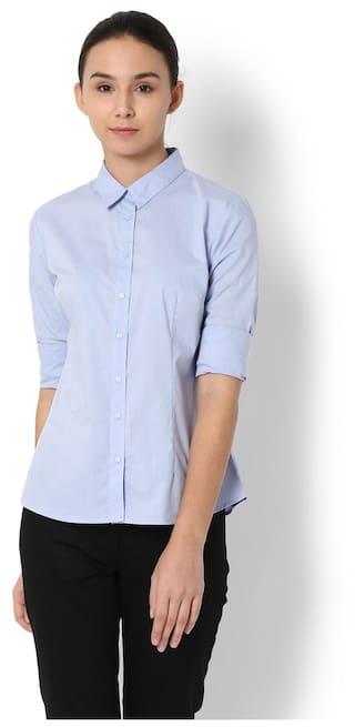 Van Van Shirt Heusen Blue Heusen qWSayHf5q
