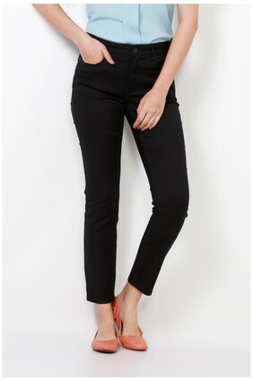 Van Heusen Blended Slim Black Jeans