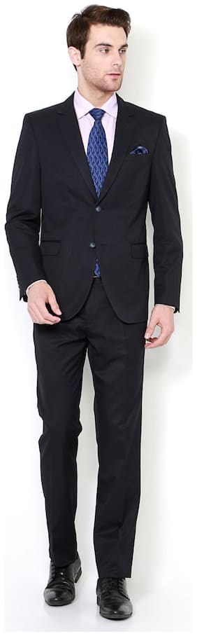 Van Heusen Black Two Piece Suit