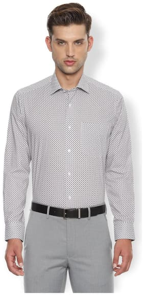Men Regular Fit Printed Formal Shirt