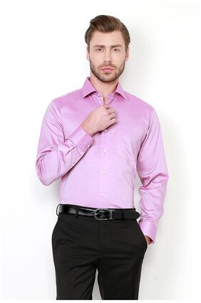 Van Heusen Men Slim Fit Formal Shirt - Pink