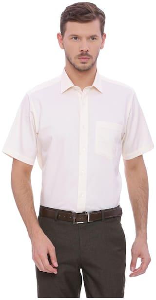 Van Heusen Men Slim fit Formal Shirt - White