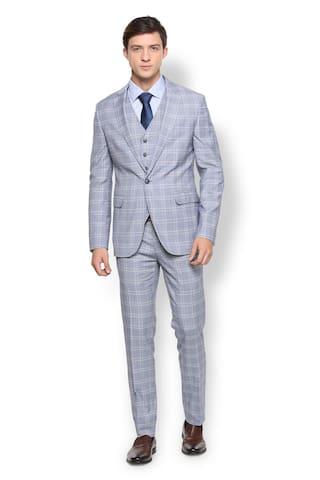 9e6a06adbf8 Buy Van Heusen Grey Reversible Four Piece Suit Online at Low Prices ...