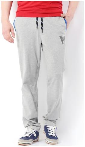 Van Heusen Men Blended Track Pants - Grey
