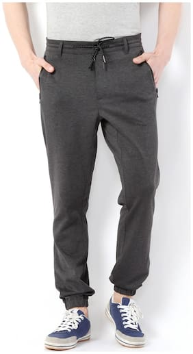 Regular Fit Blended Track Pants ,Pack Of Pack Of 1