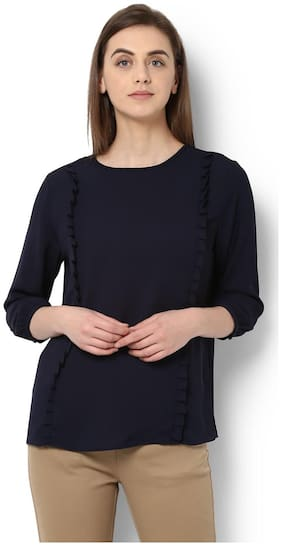 Van Heusen Navy Top