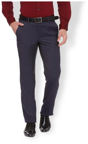 Van Heusen Navy Trousers