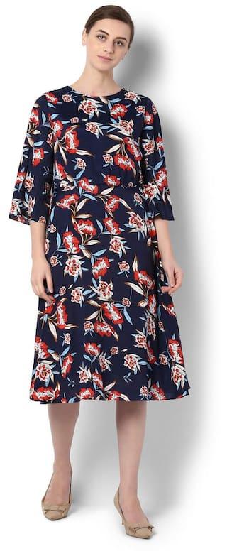 Van Heusen Navy Dress