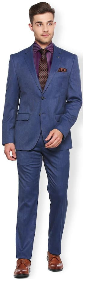 Van Heusen Navy Two Piece Suit