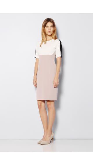 Beige Van Casual Polyester Heusen Dresses Regular wwq1CtIr