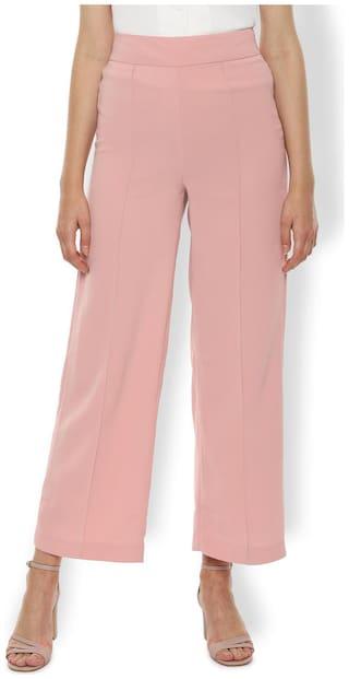 Van Heusen Women Pink Regular fit Regular trousers
