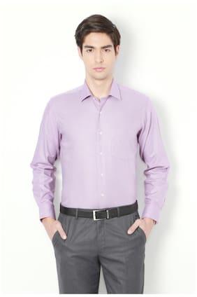 Van Heusen Men Regular Fit Casual shirt - Purple