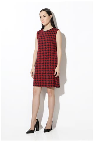 Van Dress Heusen Van Red Heusen Red ZXqqtxE4w