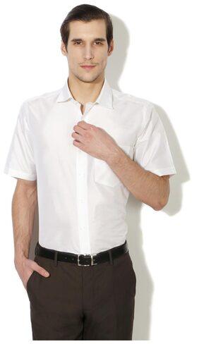 Van Heusen Men Slim Fit Casual shirt - White