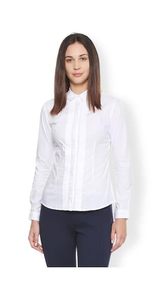Van Heusen Heusen White Heusen Shirt Shirt Van White White Van 4rCOw4nq