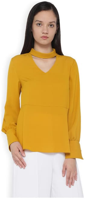 Van Heusen Yellow Top