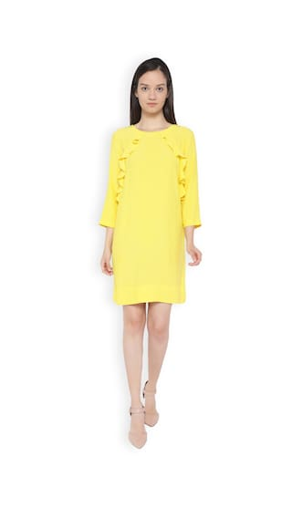Van Heusen Yellow Dress