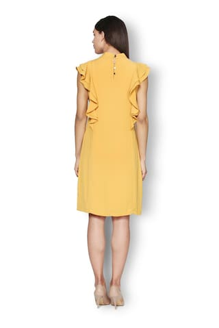 Yellow Dress Heusen Van Heusen Heusen Van Yellow Dress Van F667WI