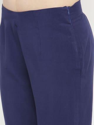 Solid Pants Varanga indigo Varanga indigo pencil xqPFOft
