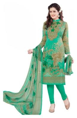 Shree Jeen Mata Collection 1770 Sea Green Colour Synthettic Chudidar And Patiyala  Dress Material