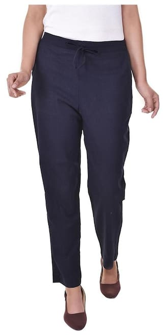 Jaipur Solid both Cotton side Trouser With Vasavi Pockets Of Full Length Raqw45d