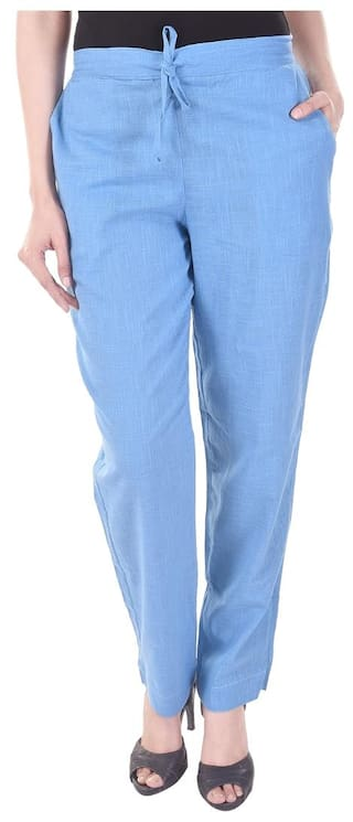Slub Cotton Vasavi Slim Fit Trouser qEqtO