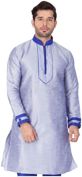VASTRAMAY Men Blue Regular Fit Kurta