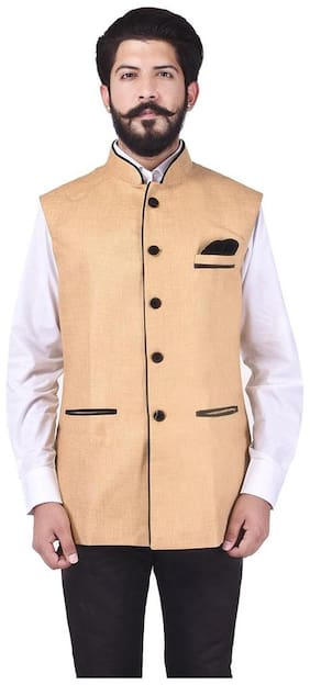 Cotton Ethnic Jacket ,Pack Of Pack Of 1