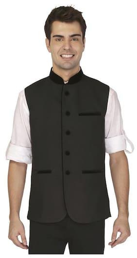 Veera Paridhaan Man's Black Nehru Jackets