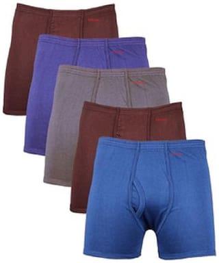 VEE SAA Solid Trunks - Assorted ,Pack Of 5