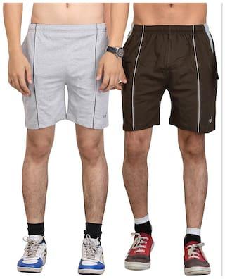 Vego Cotton Shorts 2 Pcs Combo
