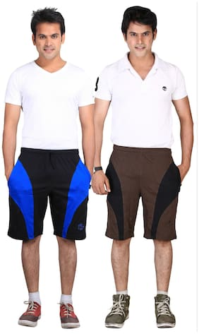 Vego Cotton Shorts 2Pcs Combo