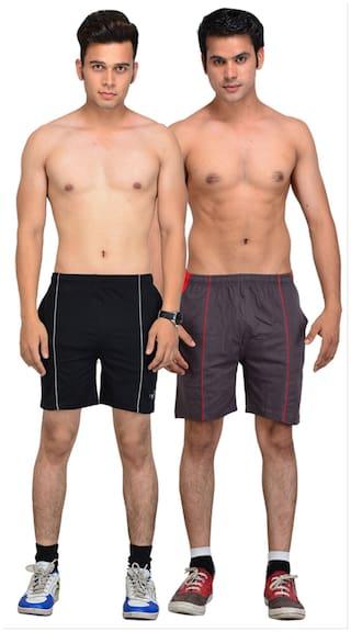 Vego Cotton Shorts 2Pcs Combo