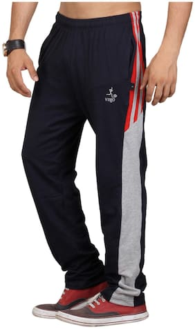 Loose Fit Cotton Track Pants